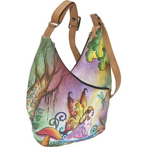 Crossbody Hobo - Enchanted Fairy