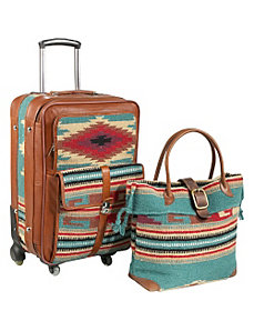 Odyssey 2 Pc. Carry-on Luggage Set by AmeriLeather