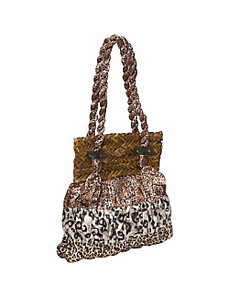 Animal Print Dress Bag by Cappelli