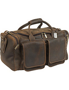 Distressed Hampton Duffel by ClaireChase
