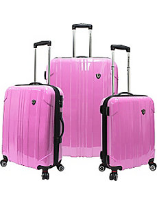 Sedona 3-Piece Hardside Spinner Set by Traveler's Choice