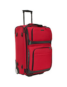 Lightweight 25' Exp. Rolling Suitcase by Traveler's Choice