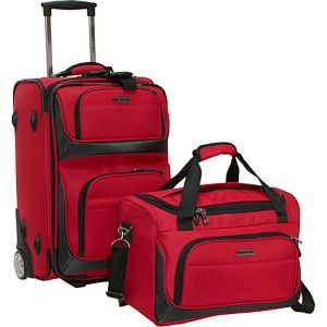 Lightweight 2-Piece Carry-on Luggage Set
