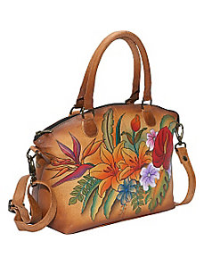 Medium Convertible Satchel - Tropical Paradise by Anuschka