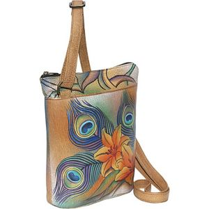Two Sided Zip Travel Organizer - Peacock Lily