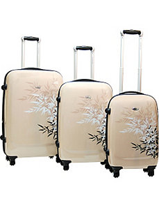 Bangkok 3 Piece Exp. Hardside Luggage Set by CalPak