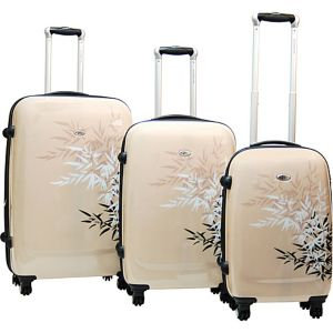 Bangkok 3 Piece Exp. Hardside Luggage Set