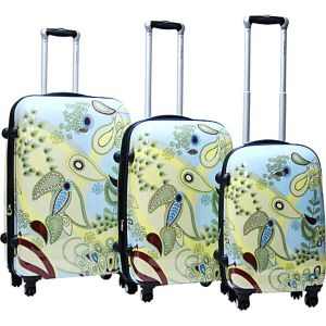 Woodstock 3 Piece Exp. Hardside Luggage Set