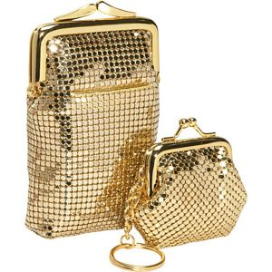 Classic Cigarette Case and Coin Pouch Key Ring