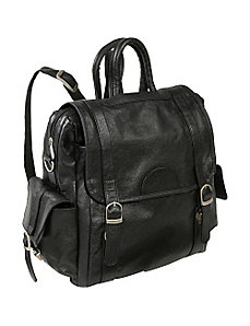 Leather Three Way Backpack by AmeriLeather
