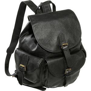 Urban Buckle-Flap Backpack