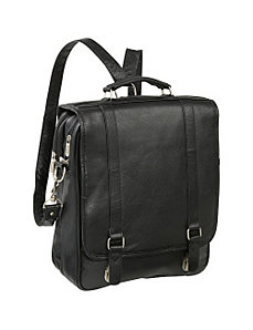 Leather Laptop Backpack Briefcase by AmeriLeather