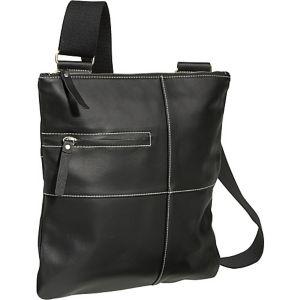 Slim Cross-Body Messenger Bag