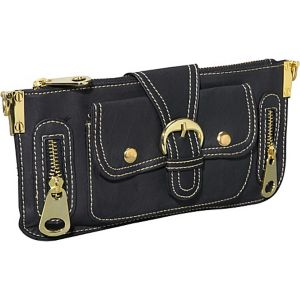 Gold Toned Hardware Clutch