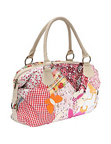 Spring Patched Handbag by Ashley M