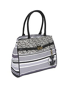 Everyday Striped Handbag by Ashley M