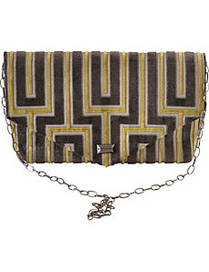 Envelope Maze Clutch by Baxter Designs