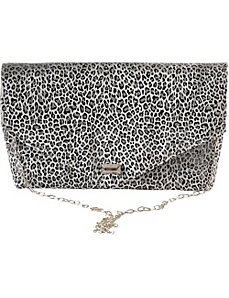 Envelope Leopard Clutch by Baxter Designs