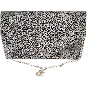 Envelope Leopard Clutch