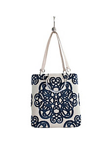 Large Filigree Tote by Baxter Designs