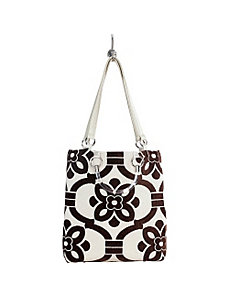 Large Stencil Tote by Baxter Designs