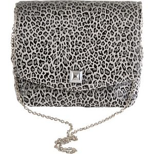 Square Leopard Clutch
