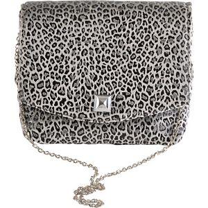 Square Leopard Clutch