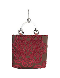 Small Filigree Tote by Baxter Designs