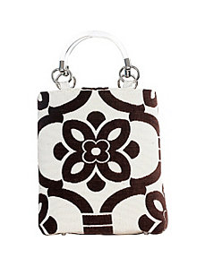 Small Stencil Tote by Baxter Designs