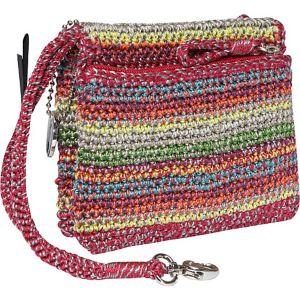 Classic Crochet Double Zip Wristlet
