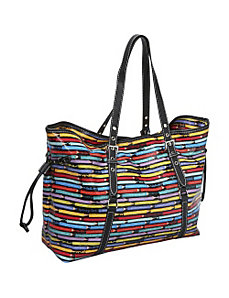 Colored Pencils Drawstring Tote by Sydney Love