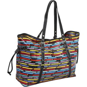 Colored Pencils Drawstring Tote