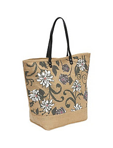 Jute Tote by Earth Axxessories