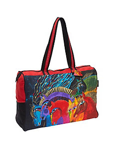 Wild Horses of Fire Travel Bag by Laurel Burch