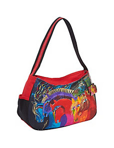 Wild Horses of Fire Hobo Bag by Laurel Burch