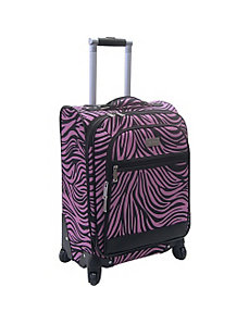 20' Wild Zebra Exp. Spinner by Nicole Miller Luggage