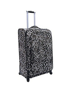 28' Camo Cheetah Exp. Spinner by Nicole Miller Luggage
