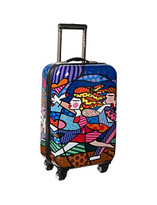 "Blossom 22"" Carry On by Britto Collection by Heys USA"