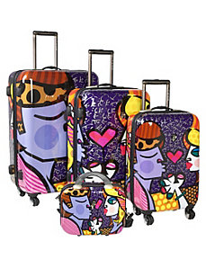 Couple 4 Piece Luggage Set by Britto Collection by Heys USA