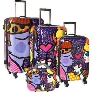 Couple 4 Piece Luggage Set