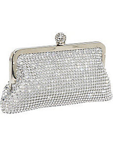 Crystal and Metal Mesh Evening Bag by J. Furmani