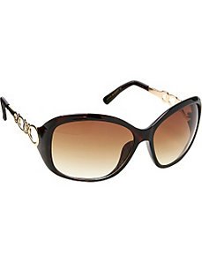 Oval Chain Sunglasses by Steve Madden Sunwear