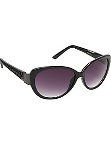 Animal Print Cateye Sunglasses by Steve Madden Sunwear