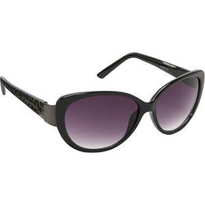Animal Print Cateye Sunglasses
