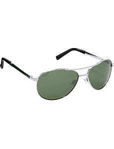 Polarized Aviator Sunglasses by Steve Madden Sunwear