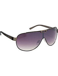 Detailed Brow Sheild Sunglasses by Steve Madden Sunwear