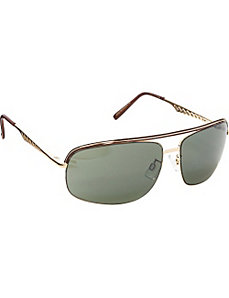 Epoxy Aviator Sunglasses by Steve Madden Sunwear