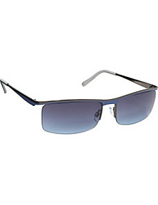 Rimless Metal Sunglasses by Steve Madden Sunwear