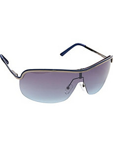 Metal Shield Sunglasses by Steve Madden Sunwear