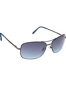 Metal With Epoxy Detail Sunglasses by Steve Madden Sunwear